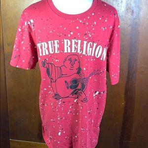 True Religion Splatter T Shirt